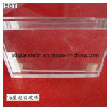 12mm Ultra Clear Tempered Safety Glass per Glass Fencing
