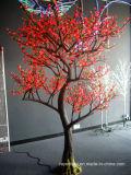Décoration de Noël de lumière d'arbre d'horizontal de DEL