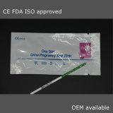 FDA d'OIN rapide de la CE d'essai de grossesse de HCG (milieu du courant de cassette de bande)
