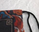MIN. Мешок Drawstring ткани полиэфира нестандартной конструкции заказа 1 (SS-dB2)