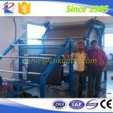 폴리우레탄 박층으로 이루어지는 직물 박판으로 만드는 기계