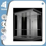 Elevador residencial do elevador do quarto da máquina da soma