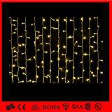 Luz de interior de la secuencia de la cortina de la decoración LED de la Navidad