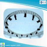 Night Bar Decoration를 위한 알루미늄 Round Lighting Truss