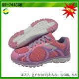 Neuer Kind-Sport bereift Mädchen-laufende Schuhe
