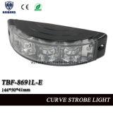 Linterna amonestadora de la motocicleta en shell de la curva con SMD LED, voltaje de Muilt (TBF-8691L-E)