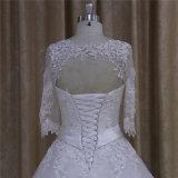 Vestidos de casamento modestos com 3/4 das luvas