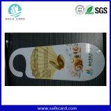 Grande cartão de PVC de forma irregular com tamanho personalizado