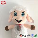 Jouet mou bourré par moutons blancs heureux de la CE d'agneau de peluche de qualité