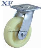 Hochleistungskörper PU-Laufkatze-industrielles Fußrollen-Rad