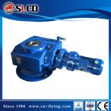 Motor engranado unidad helicoidal del engranaje de gusano de la serie S para la máquina de elevación