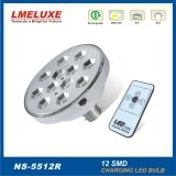 12PCS Highquality SMD LED con Remote Control Bulb