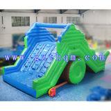 商業膨脹可能な水スライドか膨脹可能な二重車線のスリップのスライド