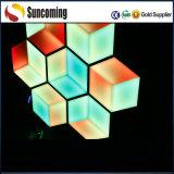 Clube do casamento Fundo Decoração Honeycomb Painel de LED Light