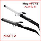 使用できる6つのサイズのM601A LCDの表示の専門の毛のヘアアイロン