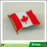 Изготовленный на заказ значки Pin флага двойника металла
