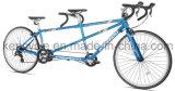 700cタンデム山Bikes/2のシートのタンデムは/Tandemの道のバイクを自転車に乗る