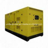 60kVA Doosan Engine Soundproof Diesel Generator Set