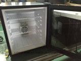 Refrigerador do refrigerador da barra do mini único hotel do refrigerador da porta mini