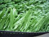 Synthetischer Rasen-künstliches Gras mit Stamm-Faser