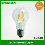 Filamento LED del bulbo 8W de RoHS LED Edison del Ce de la UL del nuevo producto