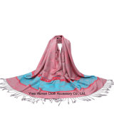 Lady Fashion Design Scarf Cetim Paisley Shawl Pashmina