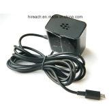 1.8m 케이블을%s 가진 검은 딸기 & Samsung를 위한 접히는 잎 1.8A 마이크로 USB 홈 여행 충전기 벽 충전기