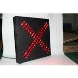 indicatore luminoso del segnale stradale di traffico a singhiozzo LED di consiglio della croce rossa di 600mm