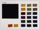 Tejido Spandex del algodón del estiramiento de la tela cruzada paño grueso y suave de la tela para prendas de vestir