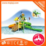 Glissière d'eau de fibre de verre de stationnement de l'eau de paradis de divertissement d'enfants