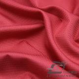 물 & 바람 저항하는 옥외 아래로 운동복 재킷에 의하여 길쌈되는 견주 복숭아 피부 격자 무늬 자카드 직물 100%년 폴리에스테 직물 (53036)