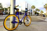 Vélo fixe de vitesse de la ville 2016 à la mode avec Salut-Dix le bâti en acier