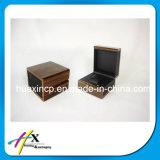 Hölzerner Uhr-Schmucksache-Papier-Verpackungs-Geschenk-Kasten