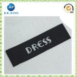 Het kledingstuk paste de Geweven Etiketten van de Polyester van 100% Kleding (aan JP-CL070)
