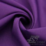Agua y de la ropa de deportes tela Doble-Rayada tejida chaqueta al aire libre Viento-Resistente 100% de la pongis del poliester del telar jacquar de la tela escocesa abajo (53102)