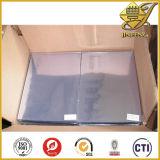 Folha transparente do PVC para as tampas obrigatórias