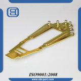 Peça dourada da guitarra do Tailpiece do metal
