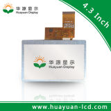 4.3 visualización de pantalla del LCD 24bit RGB LCD de la pulgada