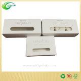 Cadre blanc de bougie de trois paquets avec le logo estampé (circuit - CB-220)