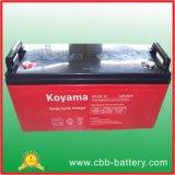 bateria profunda do AGM do ciclo de 12V 120ah para solar/telecomunicações