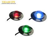 12V/24V 옥수수 속 IP68 RGB LED 수영장 빛 스테인리스