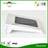 Lumière solaire extérieure de mur de détecteur de mouvement de la lampe PIR d'horizontal