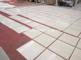 Telha bege de mármore chinesa de Botticino Classico do material de construção para o assoalho/parede