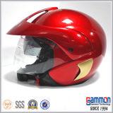 スペシャル・イベントの金の部品(OP205)が付いている開いた表面オートバイのヘルメット