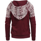 Großhandelsdame-Vlies-Pullover-Form-Baumwolle Hoodie