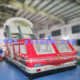 Bus Inflatable Slide BedかInflatable Long Water Slide/PVC Inflatable Adult Outdoor Slide