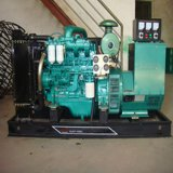물에 의하여 냉각되는 AC 삼상 조화되는 흥분 5kVA 디젤 발전기