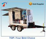 Tipo móvel sistema usado da filtragem do petróleo do transformador para petróleos dieléctricos
