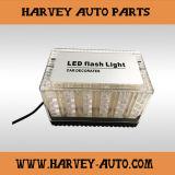 LED 스트로브 빛이 Hv에 의하여 자전한다
