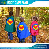 スーパーヒーローのChirdren CapesかFashion Design Superhero Kid Poncho (M-NF07F02029)